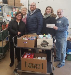 personal care item donation at West Chester Food Cupboard